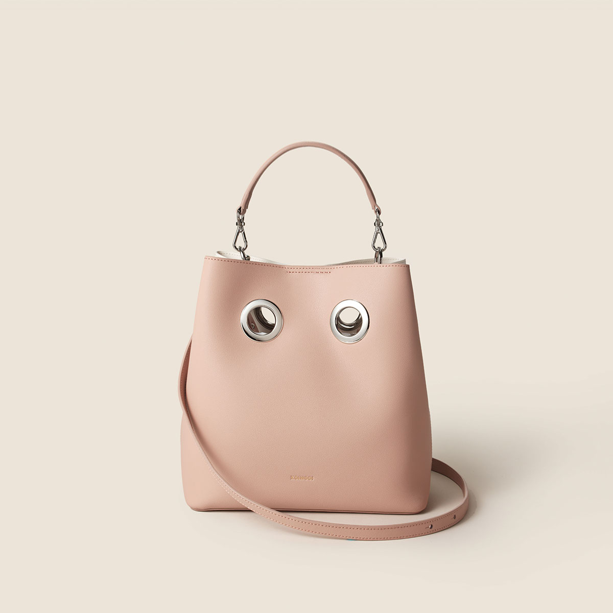 Nana Bag (Light pink+Ivory)