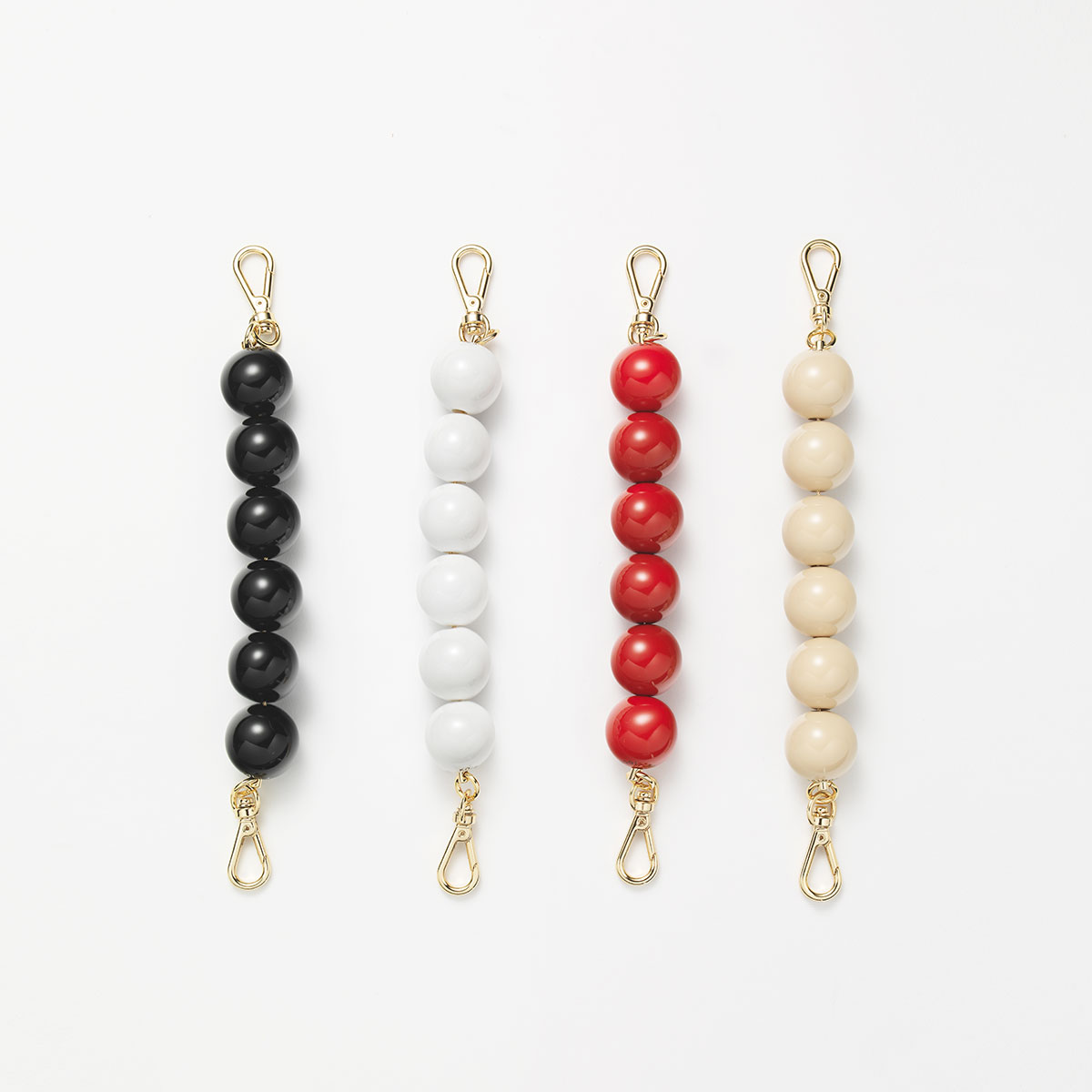 Beads Top Handle (Gold)