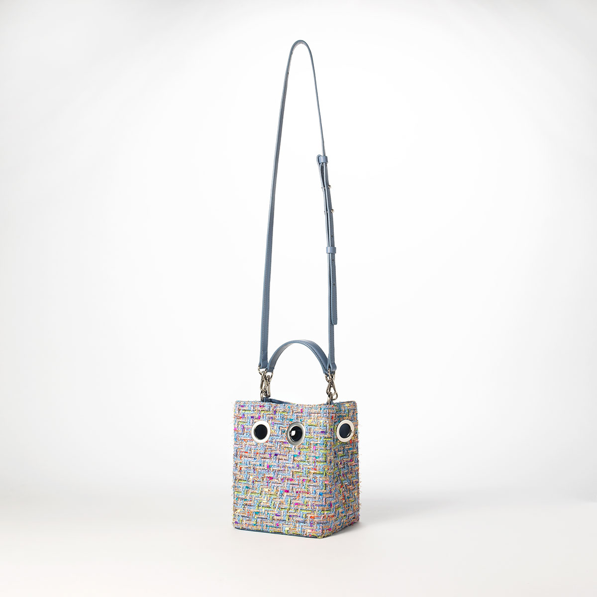Mini Nana Bag (Lavender tweed)