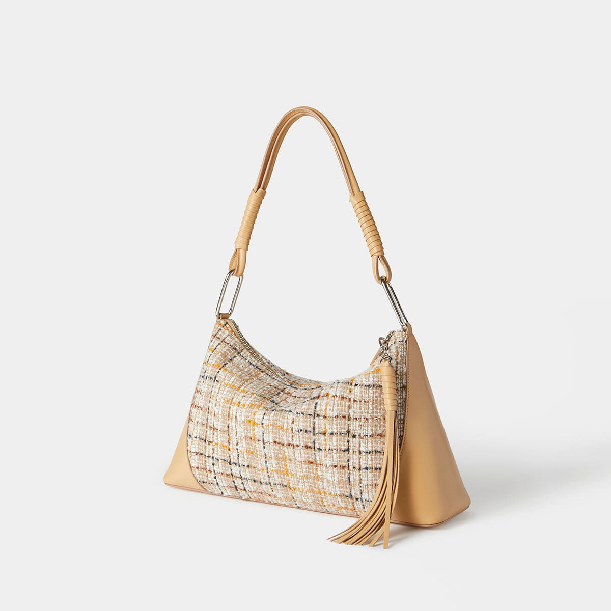 Low Bag (Beige tweed)